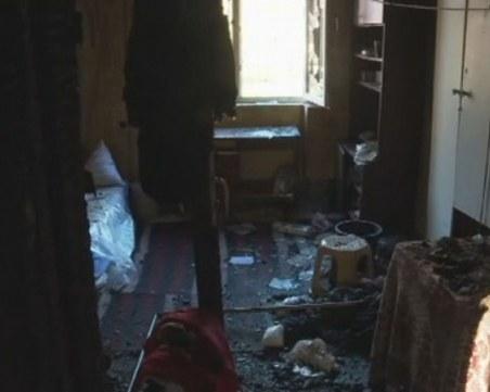 Огънят в общежитието в Димитровград тръгнал от неизправна печка