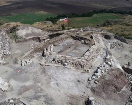 Останки от древни камили и европейски бизон открити край Бургас