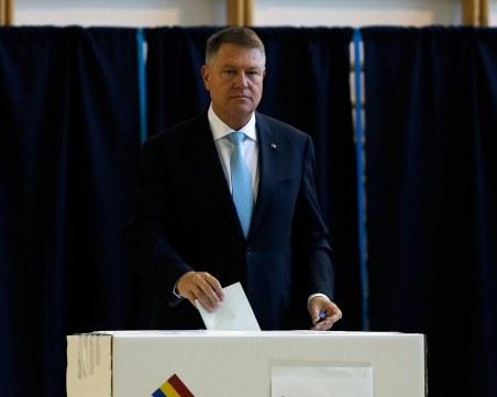 Йоханис спечели първия тур на изборите в Румъния, отива на балотаж