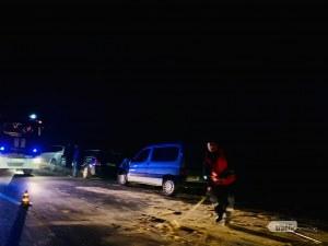 3 километра задръстване заради верижната катастрофа