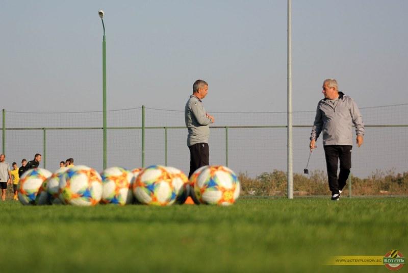 Треньорът на Ботев: Нека не се превъзбуждаме