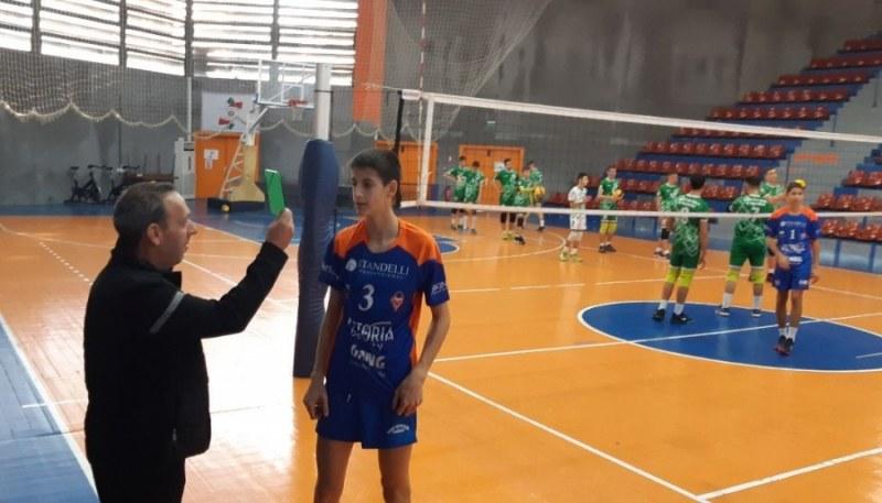 Виктория Волей с първа победа, играч на прекадетите получи зелен картон