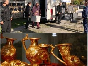 Златното съкровище се върна в Панагюрище под конвой и при пълна тайна