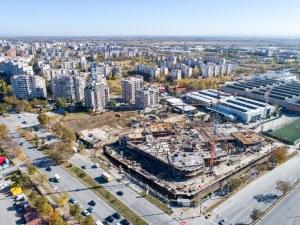 С бързи темпове строят архитектурното бижу на Пловдив!