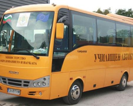 Пиян шофьор подкара автобус с деца, арестуваха го
