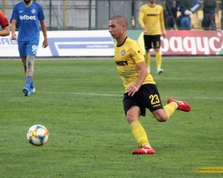 Талант на Ботев с гол при победа на националите до 19 години