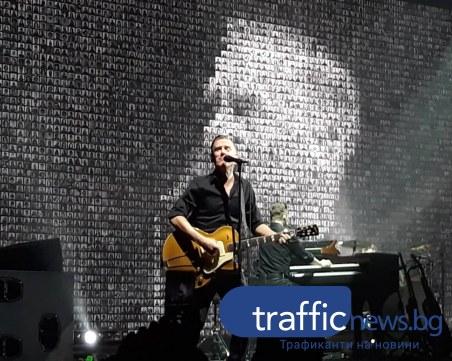 Браян Адамс за първи път в Пловдив! Вдигна публиката на крака