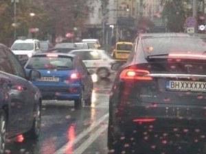 Нагъл шофьор от Видин с номер за 7 бона вбеси софиянци
