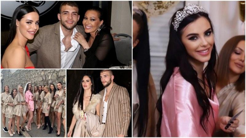 Синът на Цеца и красивата Богдана вдигат пищна сватба с 500 гости този месец