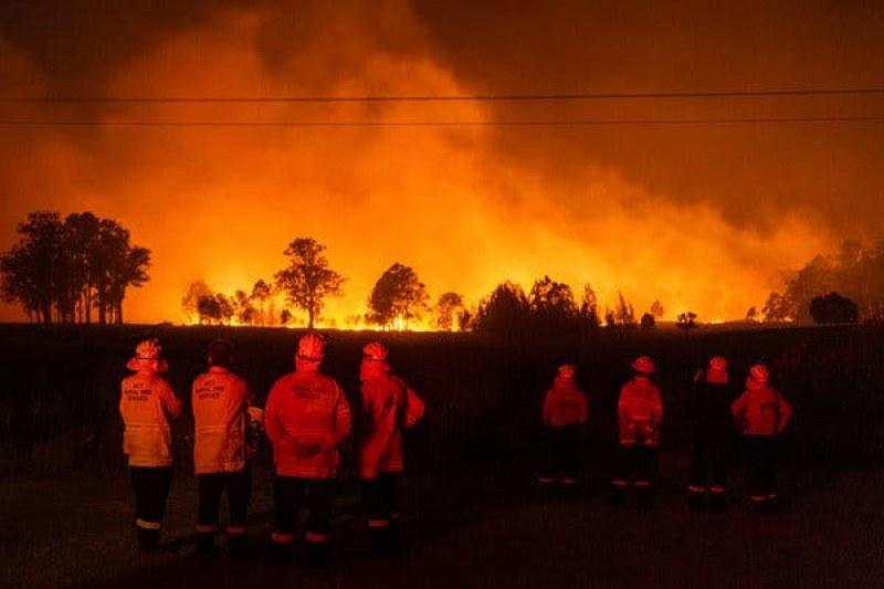 Нова опасност от пожари в Австралия, живакът скача над 40 градуса