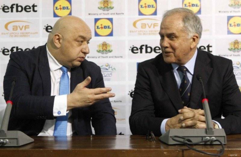 Красен Кралев: Няма да допуснем натиск във волейбола