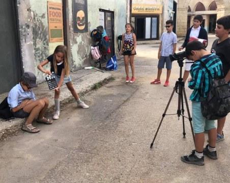 Филми, създадени от деца, показват на детската Киномания в София