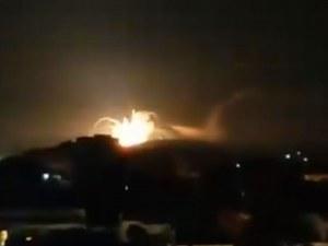 Армията на Израел атакува десетки обекти в Сирия