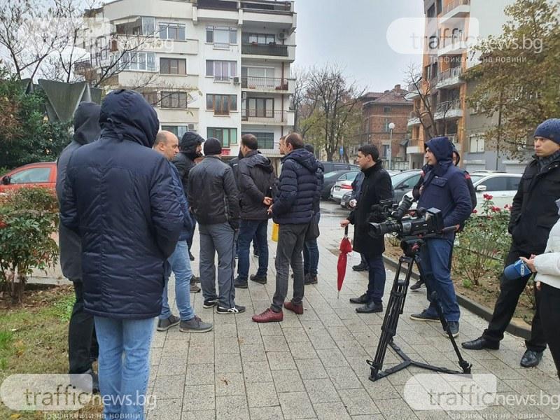Фенове на Ботев Пловдив посрещнаха общинските съветници на първата им сесия