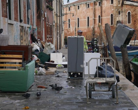 Бедствено положение заради времето обявиха в Италия