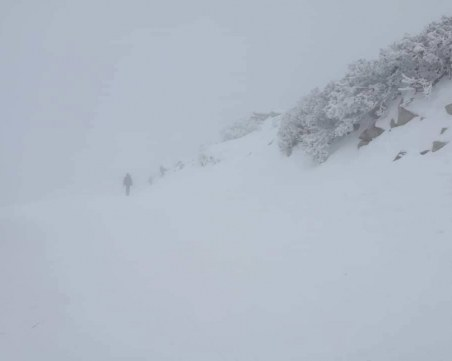 Снежна буря в Румъния! Иде ли стихията у нас?