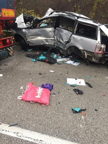 Мъж загина при тежка катастрофа край село Голец
