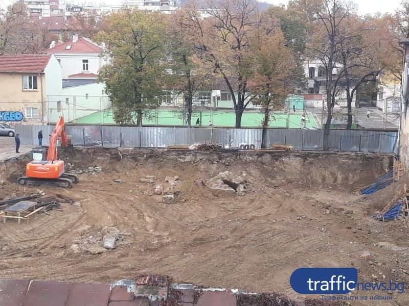 РИОСВ, РДНСК и Инспектората проверяват строеж в Тютюневия град