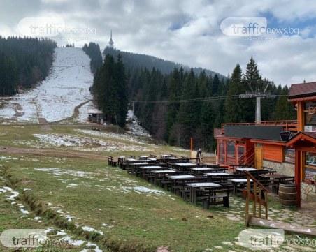 Снегът изчезна от Пампорово