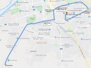 Феновете на Ботев с автошествие за Колежа днес, ето маршрута