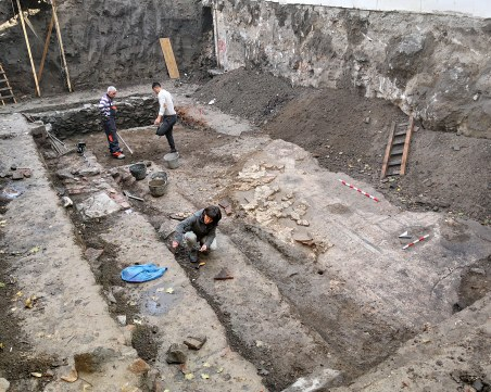 Безценна цветна мозайка като в Голямата базилика откриха в частен имот в Пловдив