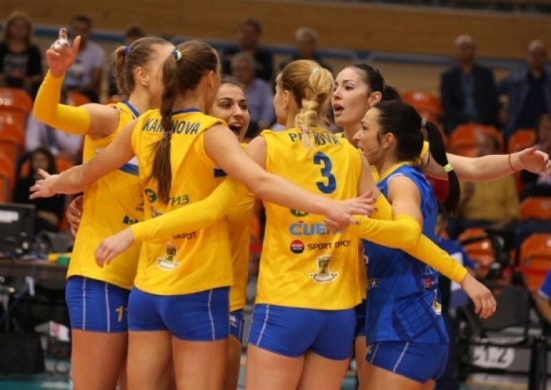 Марица взе втория гейм срещу Динамо в Колодрума