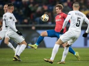 Лудогорец взе точка на ЦСКА в Москва, трябва да не губи последния мач