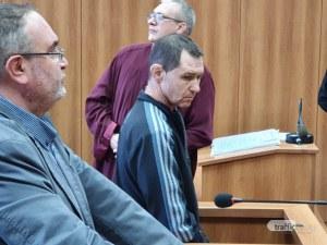 Двойният убиец от Гагарин се изправи пред съда окован – заяви, че е бил нападнат от Ботеви
