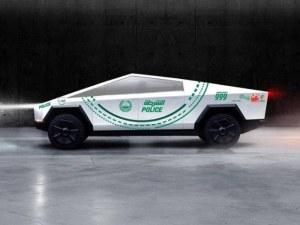 Полицията на Дубай поръча от новите Tesla Cybertruck