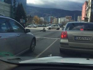 Софиянка се пробужда с водка между колите