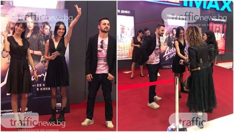 Звездни бг актьори се снимаха с фенове от Пловдив и раздаваха автографи