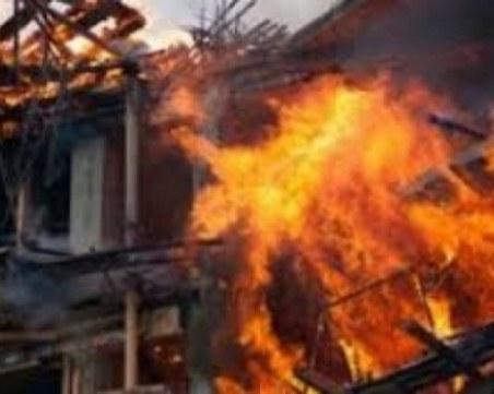 Син откри баща си мъртъв в изгорялата му къща край Видин