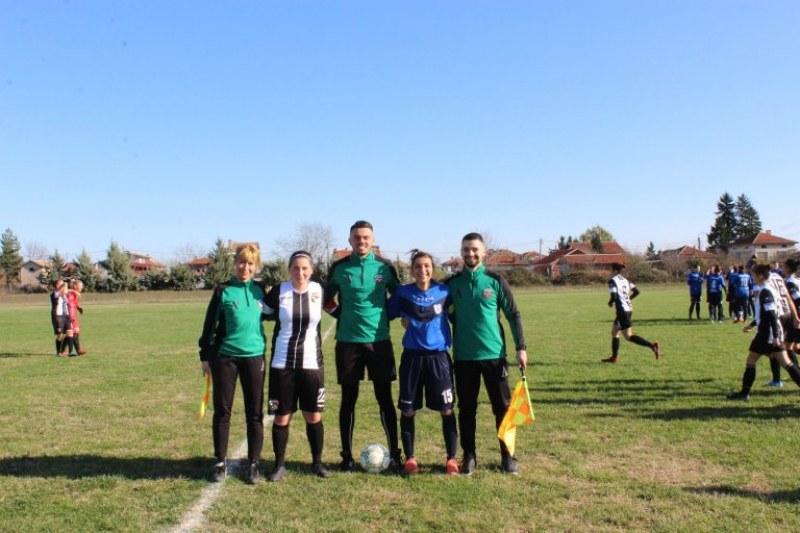 Женският отбор на Локо завърши годината с категорична победа