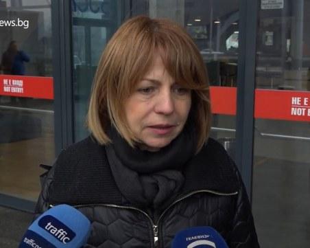 Фандъкова: Не очакваме сериозен снеговалеж, но имаме снегорини на 67 точки в столицата