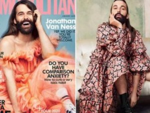 ХИВ-позитивен мъж се появи на корица на списание Космополитан