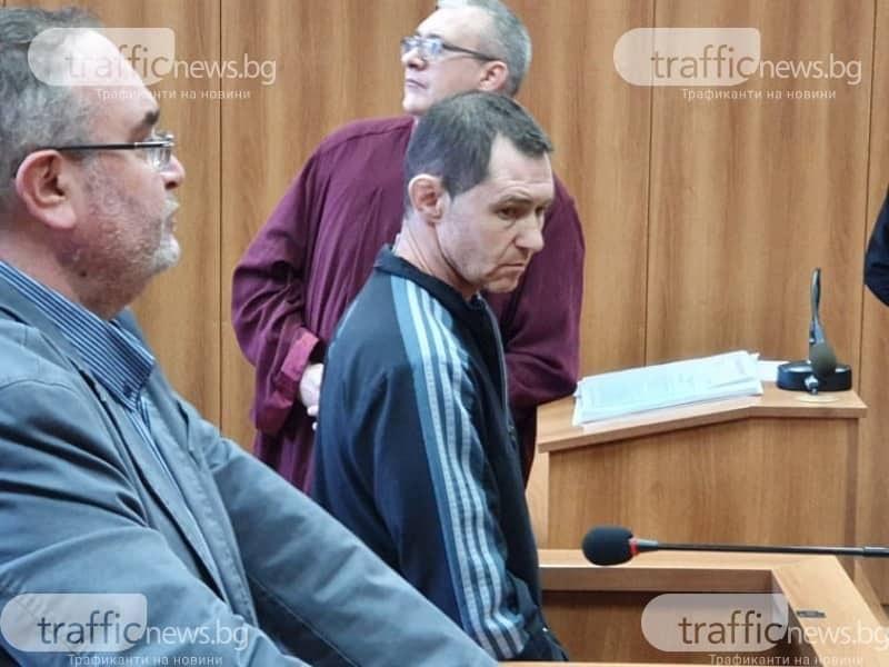 Двойният убиец от Пловдив Йордан Таков остава в ареста за постоянно