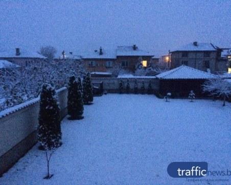 След първия сняг: В Смолянско останаха без ток