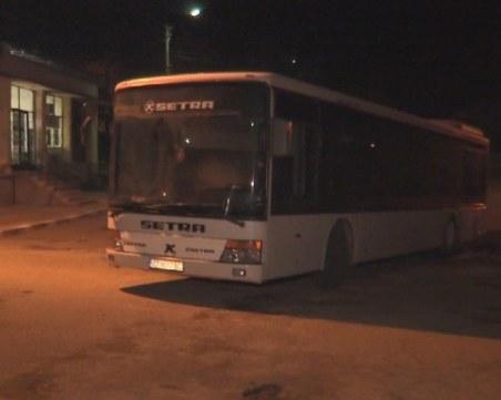 Автобус се запали в движение край Казанлък