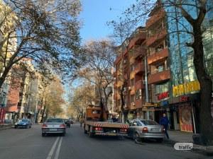Акция в центъра на Пловдив, паяк вдига наред нарушителите