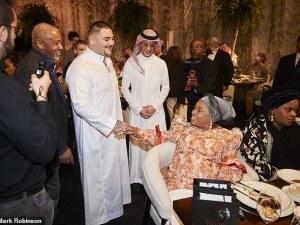 Анди Руис поздрави майката на Джошуа преди голямата битка