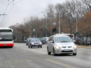 Авариен ремонт затруднява движението на булевард в Пловдив