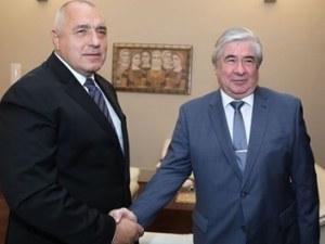 Борисов и посланик Макаров топят ледовете на спешна среща