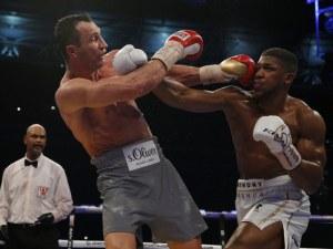 Кличко смята Антъни Джошуа за номер 1 в тежкия бокс