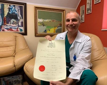 Признание: Професор от Пловдив стана член на Кралското дружество по хирургия!