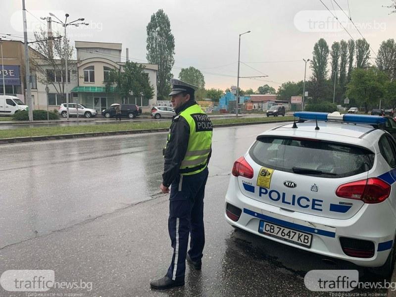 63 нарушения за 4 часа в Пловдив, масово се минава на червено