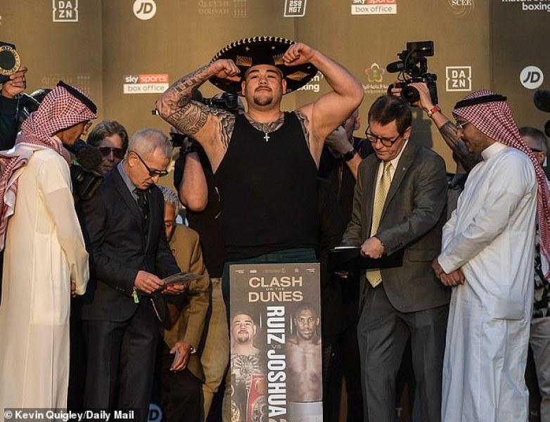 Анди Руис се вижда победител - стяга обединителен мач с Уайлдър