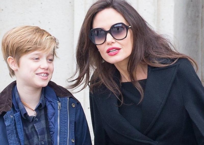 Дъщеря на Анджелина Джоли сменя пола си