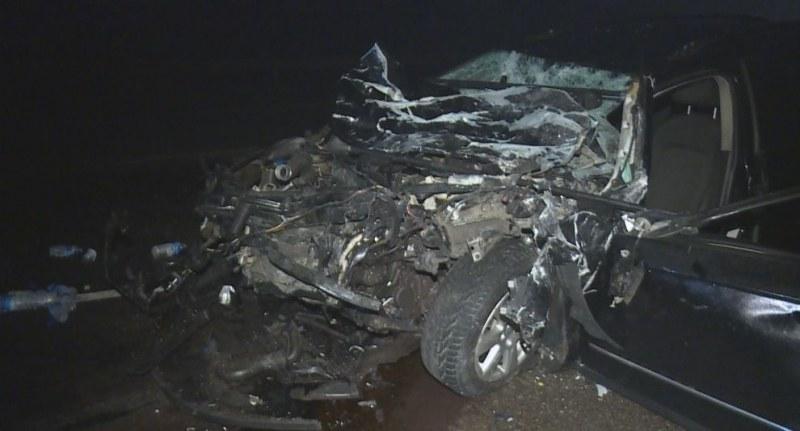 Пиян сърбин удари челно автобус на магистралата край Сливница