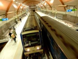 Влаковете в софийското метро може да се движат без машинисти през 2020-а