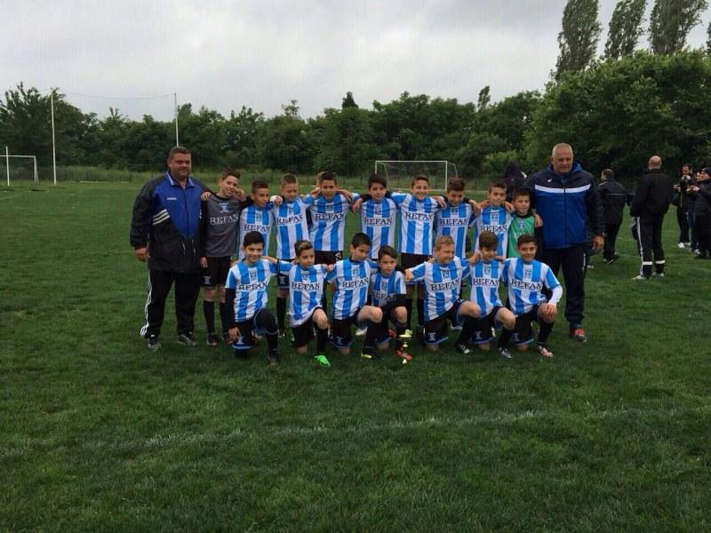 Децата на Футболна академия Пловдив завършиха полусезона с пълен актив